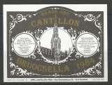 Etiquette de Bière - Belgique - Grand Cru Cantillon Bruocella 1984 - Brie Cantillon - Neuve