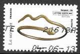 miniature France AA 2013 Y&T 785 oblitéré - Bracelet en forme de serpent en or