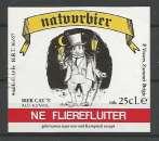 Etiquette de Bière - Belgique - Natuurbier Ne Flierefluiter - 25 cl - Brie P. Vissers - Neuve