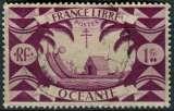 miniature OCEANIE 1942 OBLITERE N° 161