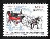 miniature France 2020 Y&T ** Europa les anciennes routes postales