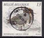 miniature TIMBRE OBLITERE DE BELGIQUE - SARCELLE (ANAS CRECCA) N° Y&T 2333