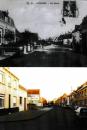 miniature Téteghem  rue Neuve  (avant après, près de Dunkerque