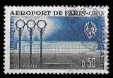 miniature France 1961 - Y&T 1283 (o) - Aéroport de Paris Orly