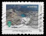 miniature France 2010 - Y&T Colectors 77 01 Oblitéré - Lac Sainte Anne - Parc du Queyras