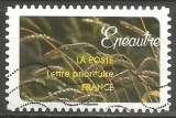 miniature France - 2017 - Y&T n° AA 1449 - Obl. - Epeautre - Un moisson de céréales