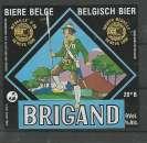 miniature Etiquette de Bière - Belgique - Brigand - 75 cl - Brie Van Honsebrouck - Neuve