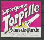 miniature Etiquette de Bière - Belgique - Super Gueuze Torpille  - 37.5 cl - Brie Van Honsebrouck - Neuve