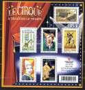 miniature Année 2008 : Bloc Feuillet N° 121 ** Le Cirque à travers le temps