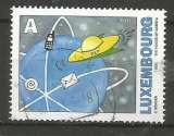 Luxembourg 2002 - YT n° 1541 - La poste au futur - vaisseau postal spacial