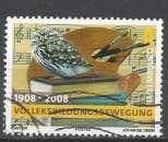 Luxembourg 2008 - YT n° 1736 - Chouette sur une pile de livres