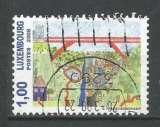 Luxembourg 2008 - YT n° 1740 - Dessin -paysage avec vache - cote 1,80