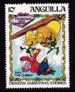 miniature TIMBRE NEUF D'ANGUILLA - CONTES DE CHARLES DICKENS, ILLUSTRATIONS STUDIOS W. DISNEY N° Y&T 512