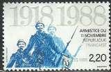 miniature France 1988 - 2549 oblitéré .