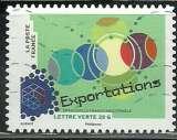 miniature France 2014 - Autoadhésif 1066 - La nouvelle France industrielle - Exportations