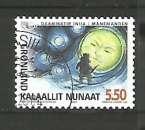 miniature Groenland 2004 - YT n° 390 - Mythologie - l'homme de la lune - cote 2,50