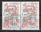 miniature France 1980 YT 2081 Gordes (paire)
