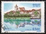 miniature P238 - Y&T n° 4108 - oblitéré - La collégiale de Dole - 2007 - France