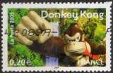 miniature P243 - Y&T n° 3846 - oblitéré - Donkey Kong jeu vidéo - 2005 - France