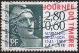 miniature P250 - Y&T n° 2933 - oblitéré - 50 ans de la Marianne de Gandon - 1995 - France