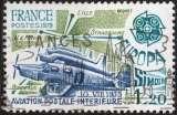 miniature P254 - Y&T n° 2046 - oblitéré - Europa - Simoun aviation postale intérieure - 1979 - France