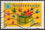 miniature P255 - Y&T n° 3480 - oblitéré - Anniversaire - 2002 - France