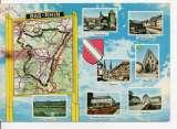 cpm carte géographique département bas rhin (67)
