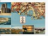 miniature cpm carte géographique département bouches du rhone (13)
