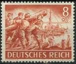 ALLEMAGNE REICH 1943 OBLITERE N° 752 (*)