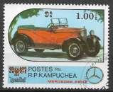 Kampuchea 1986 Y&T 663 oblitéré - Mercedes Benz