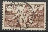 France 1940 Y&T 467 oblitéré - Secours national
