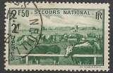 France 1940 Y&T 469 oblitéré - Secours national