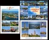 miniature PHARES DE BRETAGNE (29, 22) : 7 cartes multivues