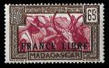 miniature Madagascar 1942 - Y&T 236 ** MNH - France Libre