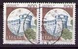miniature Italie - 1980 - Y&T n° 1451 - Obl. - Château de Rovereto - Trente - Série courante