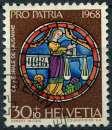 SUISSE 1968 OBLITERE N° 809