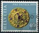 SUISSE 1974 OBLITERE N° 963