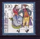 miniature RFA 1993  Y&T  1531  oblitéré  (2)