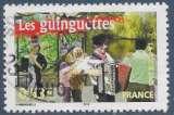 miniature FRANCE 2005 : yt 3770 Oblitéré/Used # Les guinguettes