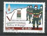 miniature Italie 2010 - YT n° 3161 Nxx - Pompiers - cote 1,80