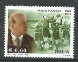 miniature Italie 2010 - YT n° 3180 Nxx - Rugby - cote 1,80