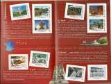 miniature Collector neuf - La France comme j'aime - Paris 2010 - 10 timbres autoadhésifs + dépliant