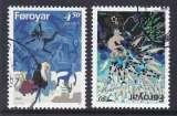 miniature PAIRE OBLITEREE DES ILES FEROE - EUROPA 1997 : CONTES ET LEGENDES N°Y&T 313/314