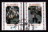 miniature PAIRE OBLITEREE DES ILES FEROE - EUROPA 1998 : FESTIVALS NATIONAUX N° Y&T 334/335