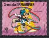 miniature TIMBRE NEUF DES GRENADINES - W. DISNEY : MINNIE ET LA G.R.S. N° Y&T 826