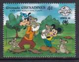 miniature TIMBRE NEUF DES GRENADINES - W. DISNEY : MICKEY, DINGO ET LES KOALAS N° Y&T 876