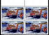 miniature Nouvelle Calédonie 2014 10e anniversaire des sauveteurs en mer ( Bloc de 4 )