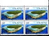 miniature Nouvelle Calédonie 2016 Ile de Tiga ( Bloc de 4 )