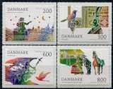 miniature DANEMARK  _  Y & T  :   N°   1675/1678  **   -   Cote  :   7,60   €