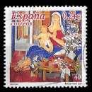 miniature Espagne 2001 - Y&T 3391 - Christmas Vierge à l'enfant par Alfredo Roldán